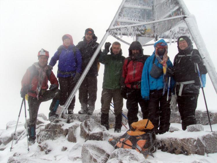 Atlas Dağları Jebel Toubkal'da ilk Türk dağcılar