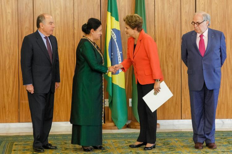 Türkmenistan, Brezilya'ya büyükelçi atadı