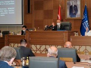 Bursa Büyükşehir 2019 faaliyet raporu onaylandı