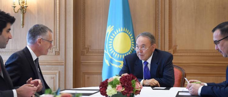 Kazakistan ve Fransa arasında 5 milyar dolarlık yatırım
