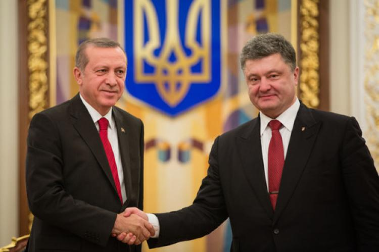 Poroşenko'dan, Erdoğan'a kutlama