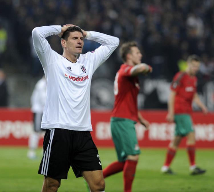 Beşiktaş: 1 - Lokomotiv Moskova: 1