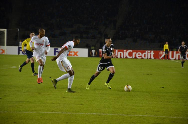 Karabağ Fransa takımı Monako'dan 1 puan aldı