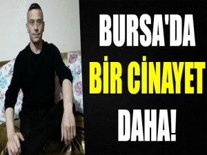 Bursa'da bir cinayet daha!