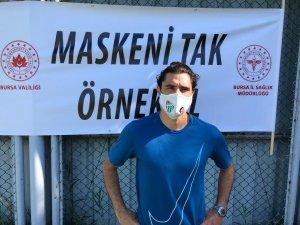Bursaspor'dan maske çağrısı