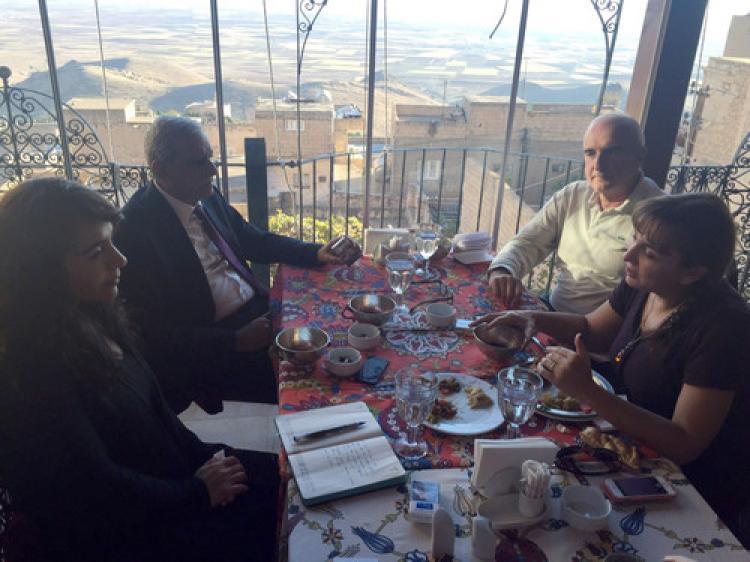 New York Times yazarı, Ahmet Türk'ü ziyaret etti