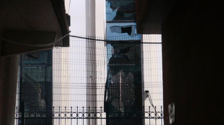Cizre Adliyesi'ne roketle saldırı
