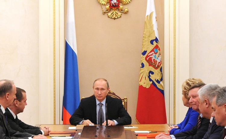 Kremlin'de uçuş güvenliği görüşüldü