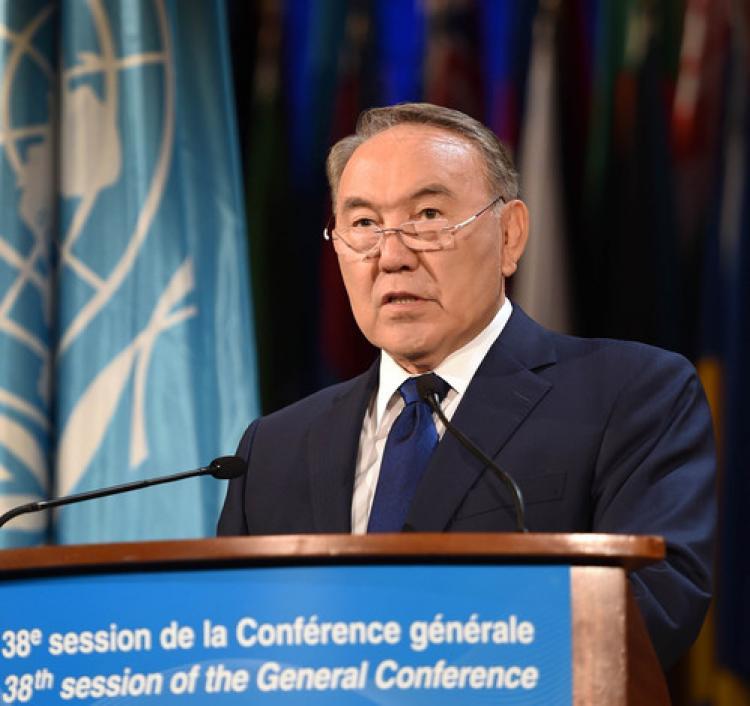 Nazarbayev'den terörle mücadele için çağrı