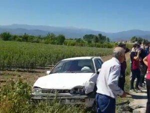 Bursa'da kaza: 9 yaralı!