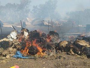 Orman yangını söndürüldü!
