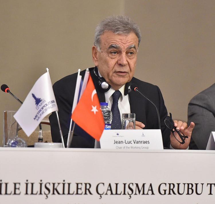 Başkan Kocaoğlu mülteci meselesini AB gündemine taşıdı