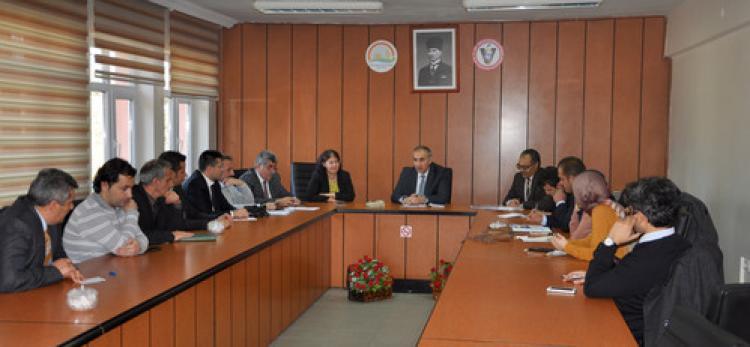 Erzurum'da 'balıkçılığa uygun su kaynaklarının tespiti' toplantısı