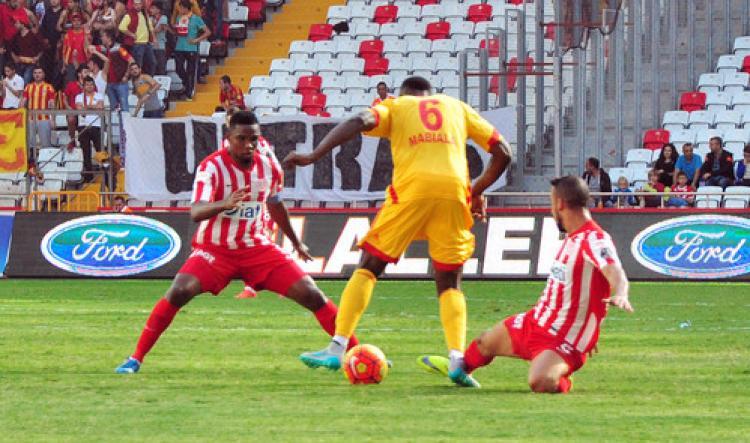 Antalyaspor: 1 - Kayserispor: 1