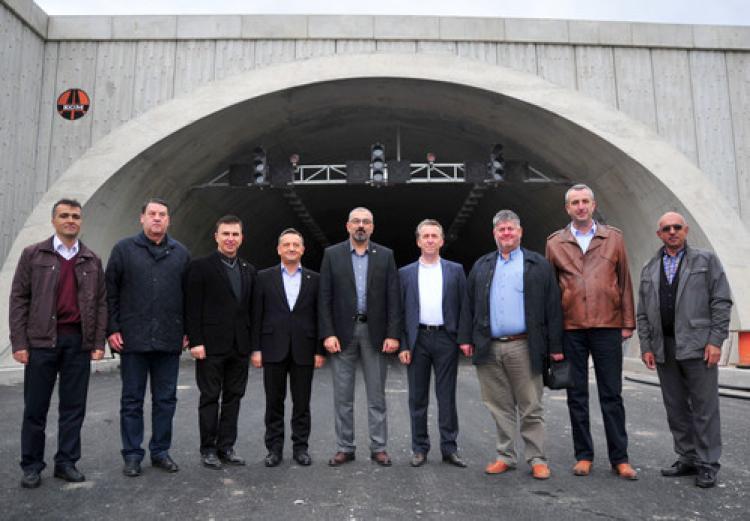 Orhangazililer'den Samanlı Tüneli'ne itiraz