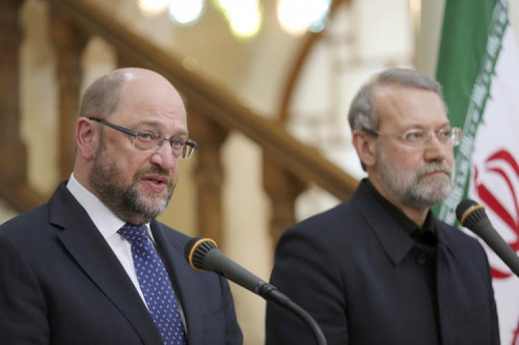 AP Başkanı Schulz İran'da