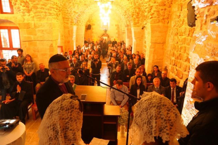 60 yıl sonra Protestan Kilisesi ibadete açıldı
