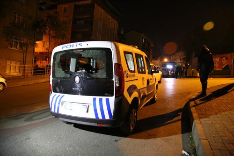 Polise ateş açıldı: 2 yaralı