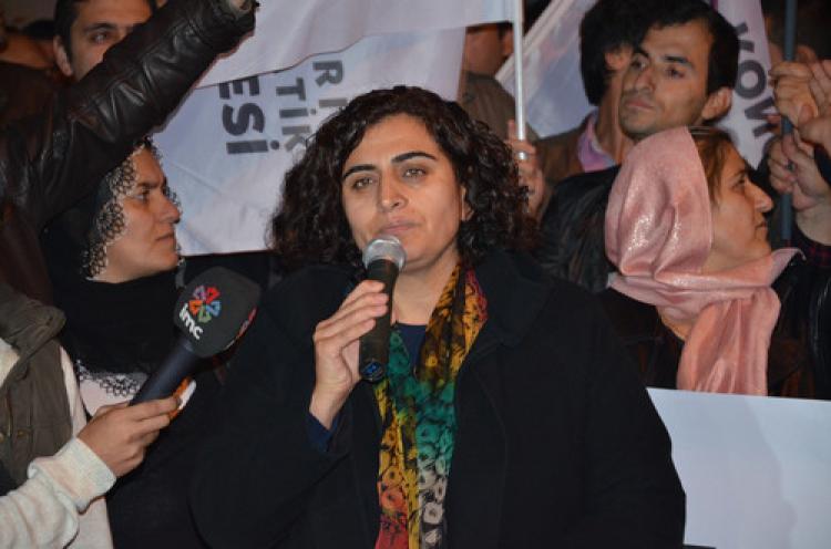 HDP'den Silvan için destek eylemi