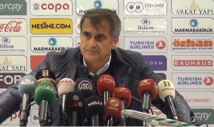 Şenol Güneş: Bursaspor kaptanı bana yalvardı!