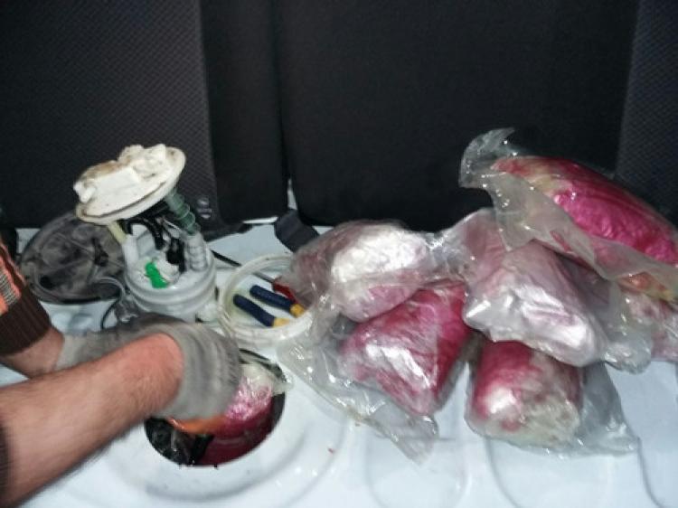 31 kilo eroin ele geçirildi