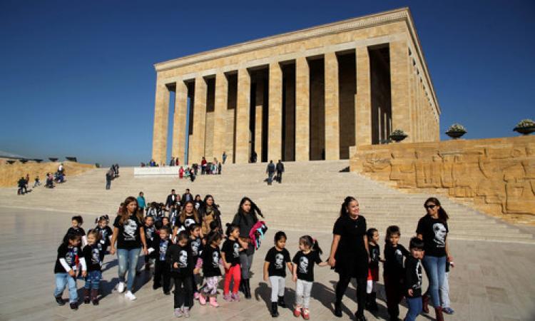Çankayalı 700 minik öğrenci Anıtkabir'de