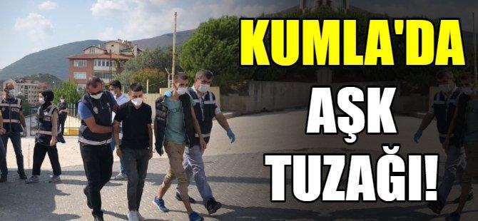 Bursa'da aşk tuzağı!