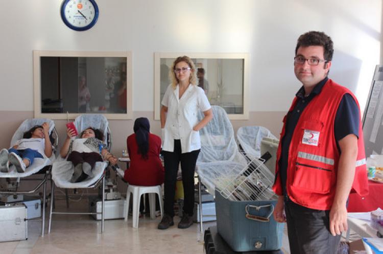 MYO öğrencilerinden Kızılay'a 88 ünite kan bağışı