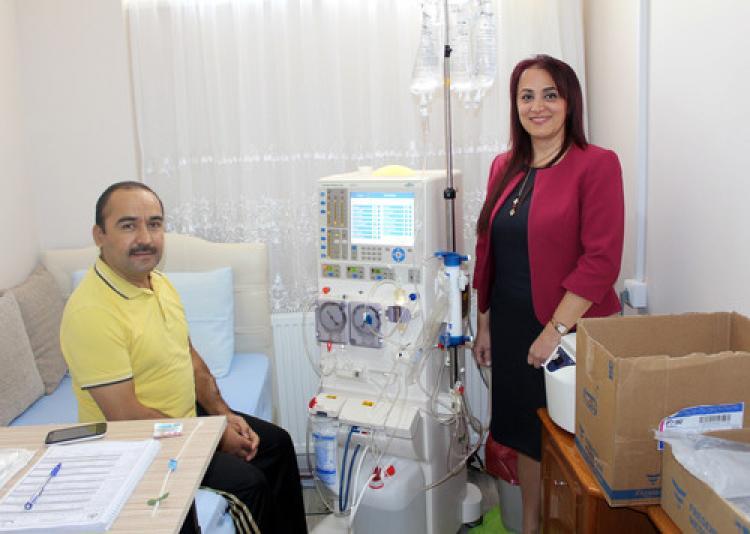 Denizli'de evde hemodiyaliz uygulaması başlatıldı
