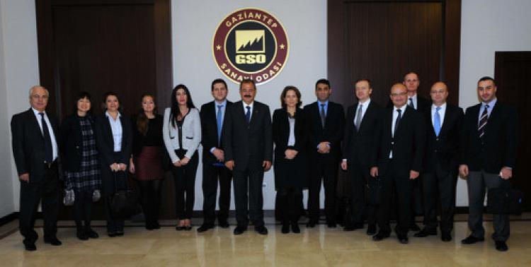 EBRD heyeti, Suriyeli mültecilerin Gaziantep'e etkisini araştırıyor