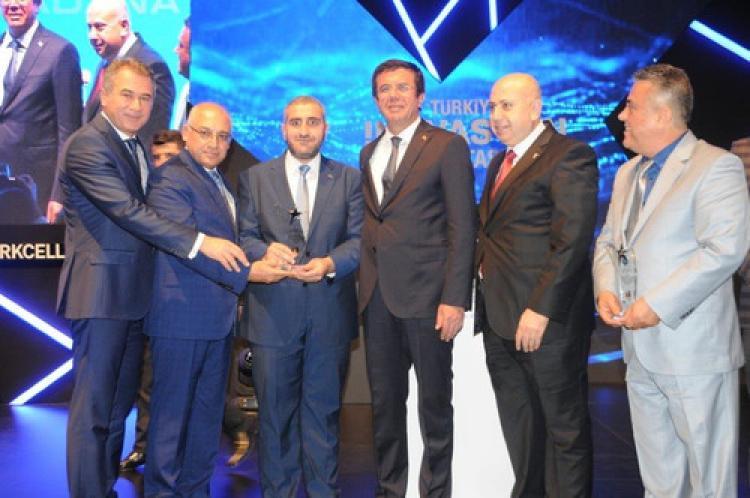 Beyza Piliç'e ihracat rekortmenleri ödülü