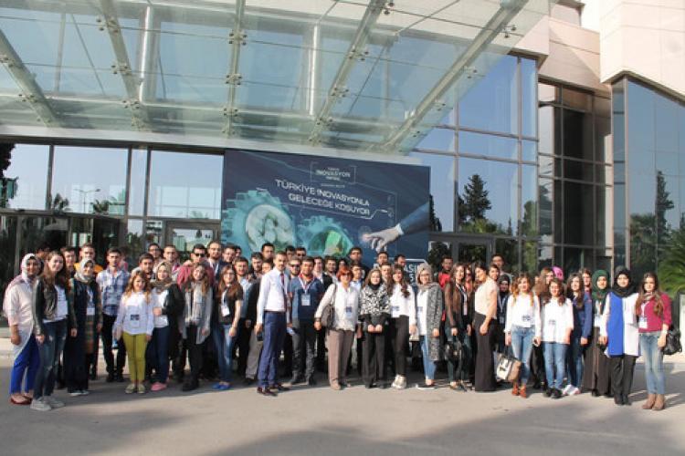 NNYÜ öğrencileri İnovasyon Haftası etkinliklerine katıldı