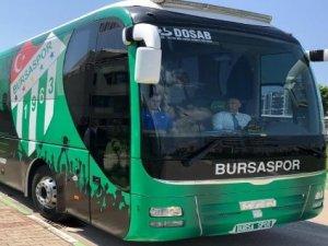 Bursaspor Bolu'ya hareket etti