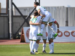 Bursaspor'un maç programı belli oldu