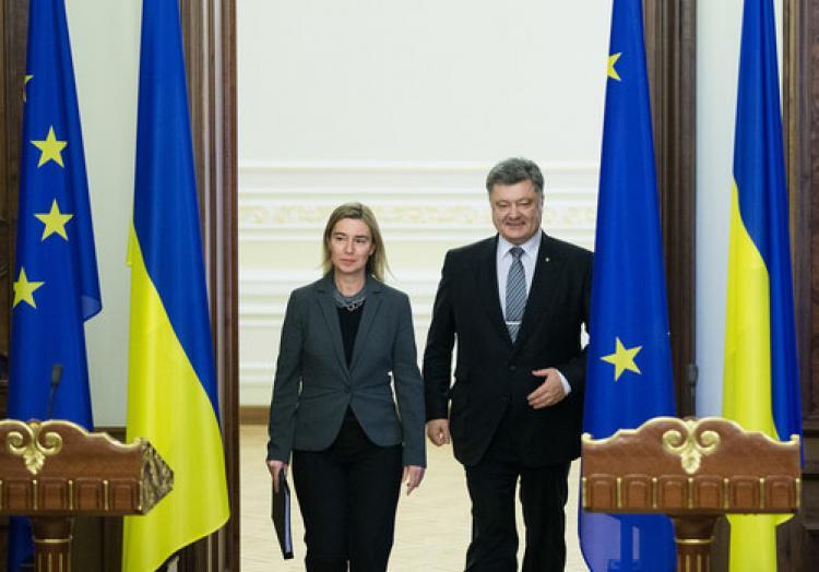 AB Yüksek Temsilcisi Mogherini, Ukrayna'da