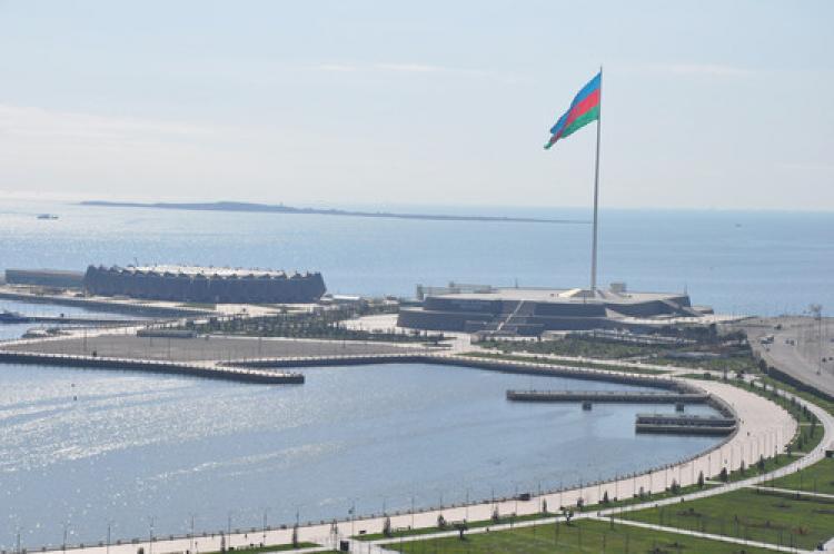 Azerbaycan Bayrak Bayramı'nı kutluyor