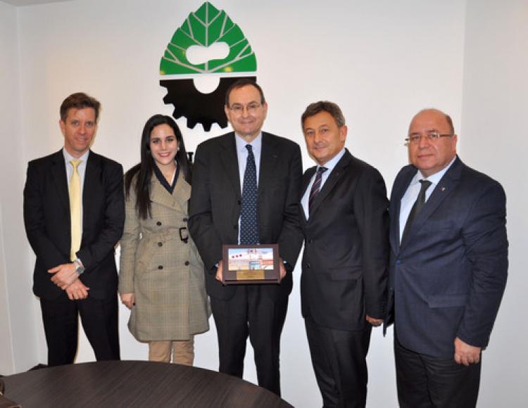 Fransız Ekonomi Müsteşarlığı ile BUSİAD arasında işbirliği kararı