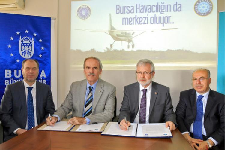 Bursa'da 'hava aracı imalatı' için protokol imzalandı