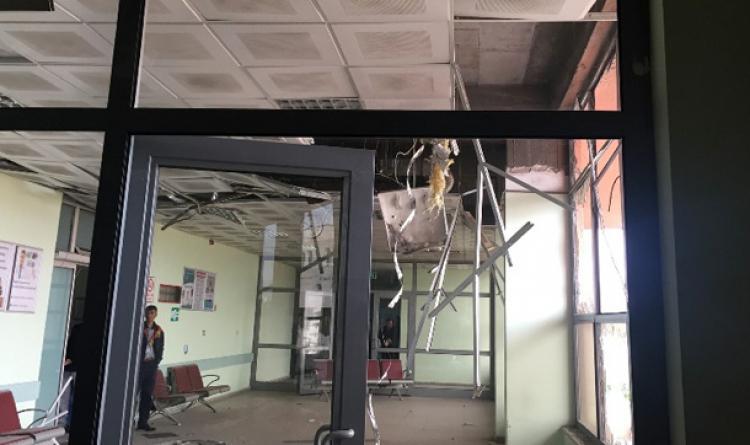 Emniyet binasına roketatarlı saldırı