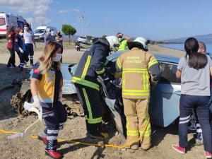 Bursa'da kaza: 1 ölü 3 yaralı!
