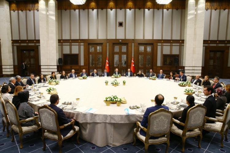Erdoğan, G-20 temsilcilerini ağırladı