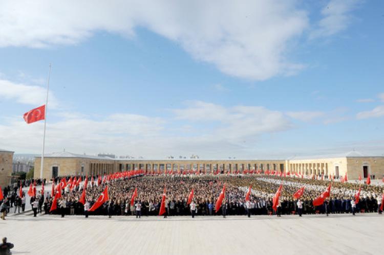 Atatürk, vefatının 77. yılında Anıtkabir'de anıldı
