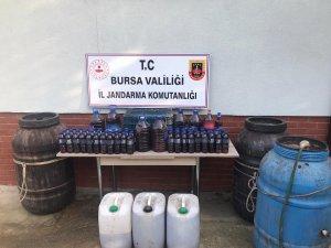 Bursa'da sahte içki operasyonu!