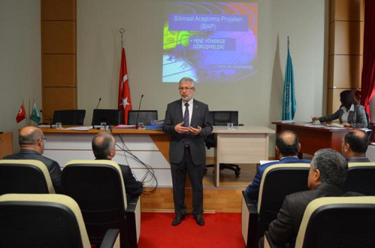 Uludağ Üniversitesi'nde daha çok proje üretilecek