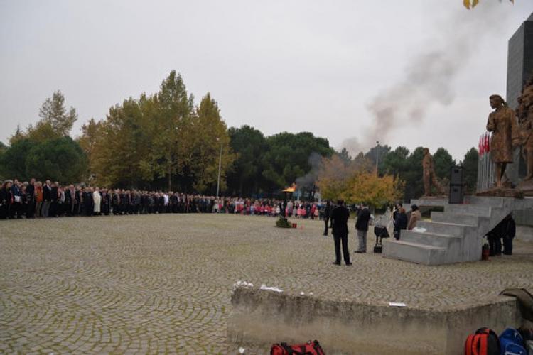 Uludağ Üniversitesi'nde Atatürk'ü anma töreni