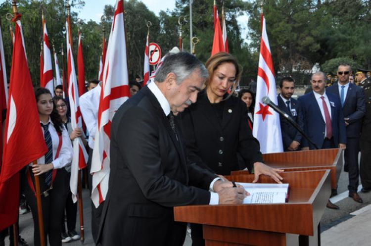 Atatürk KKTC'de de anıldı