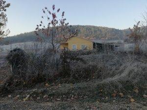 Bursa'nın dağ ilçesi beyaza büründü