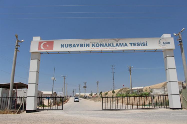 Nusaybin'deki 600 mülteci Ezidi, AB ülkelerine gitmek için yola çıktı