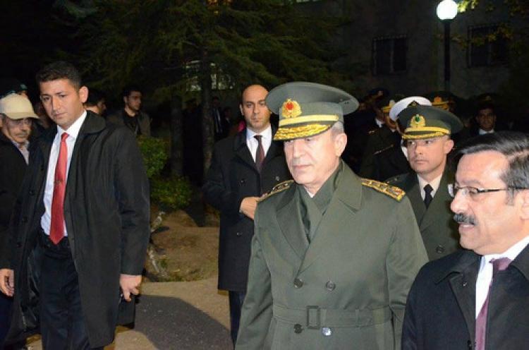 Genelkurmay Başkanı Akar'dan  taziye ziyareti