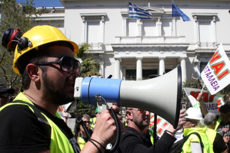 İşçilere 'greve katılın' çağrısı